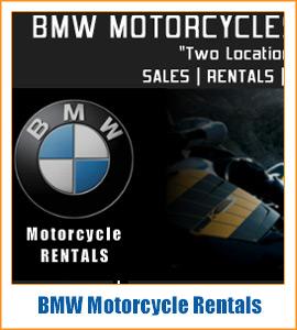 BMW Motorcycle Rentals